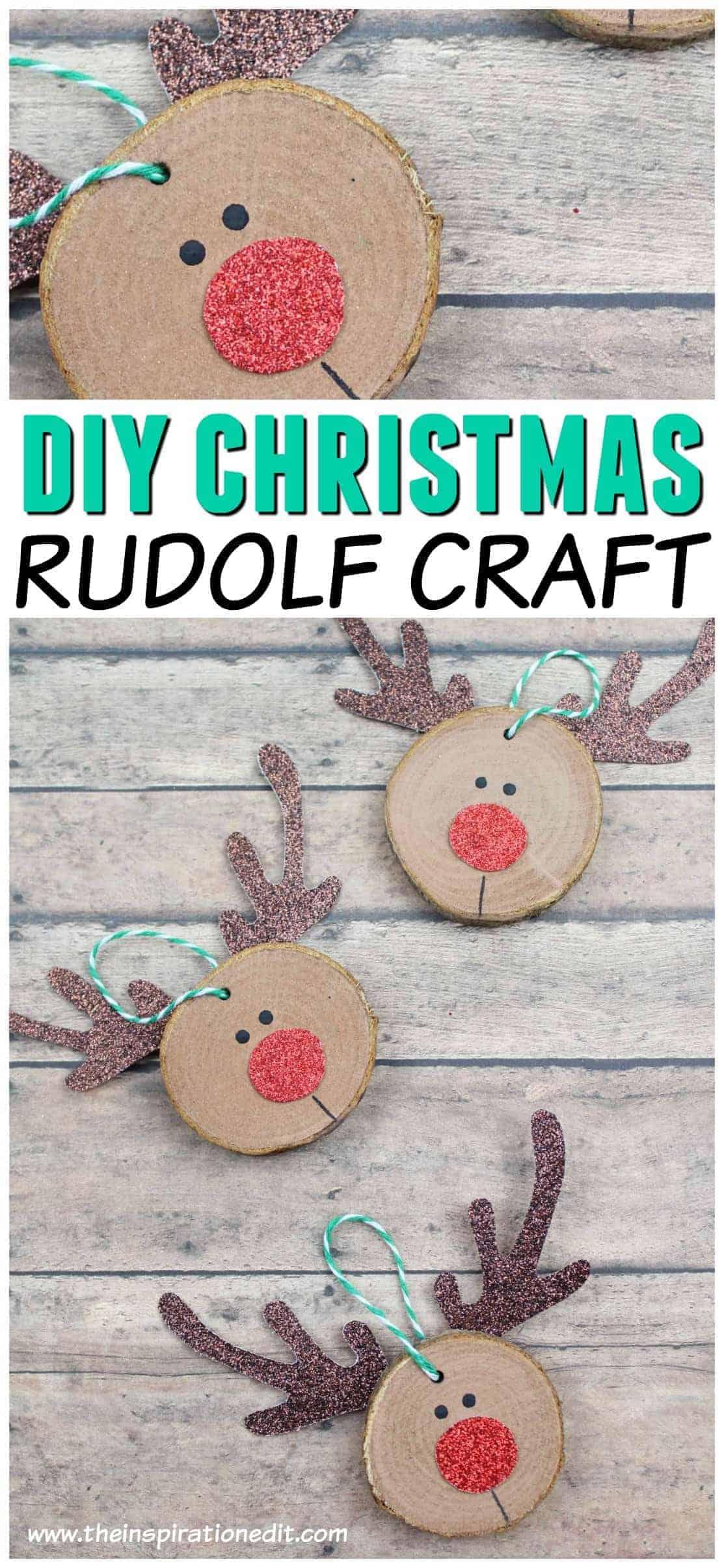 Rudolf Christmas Craft