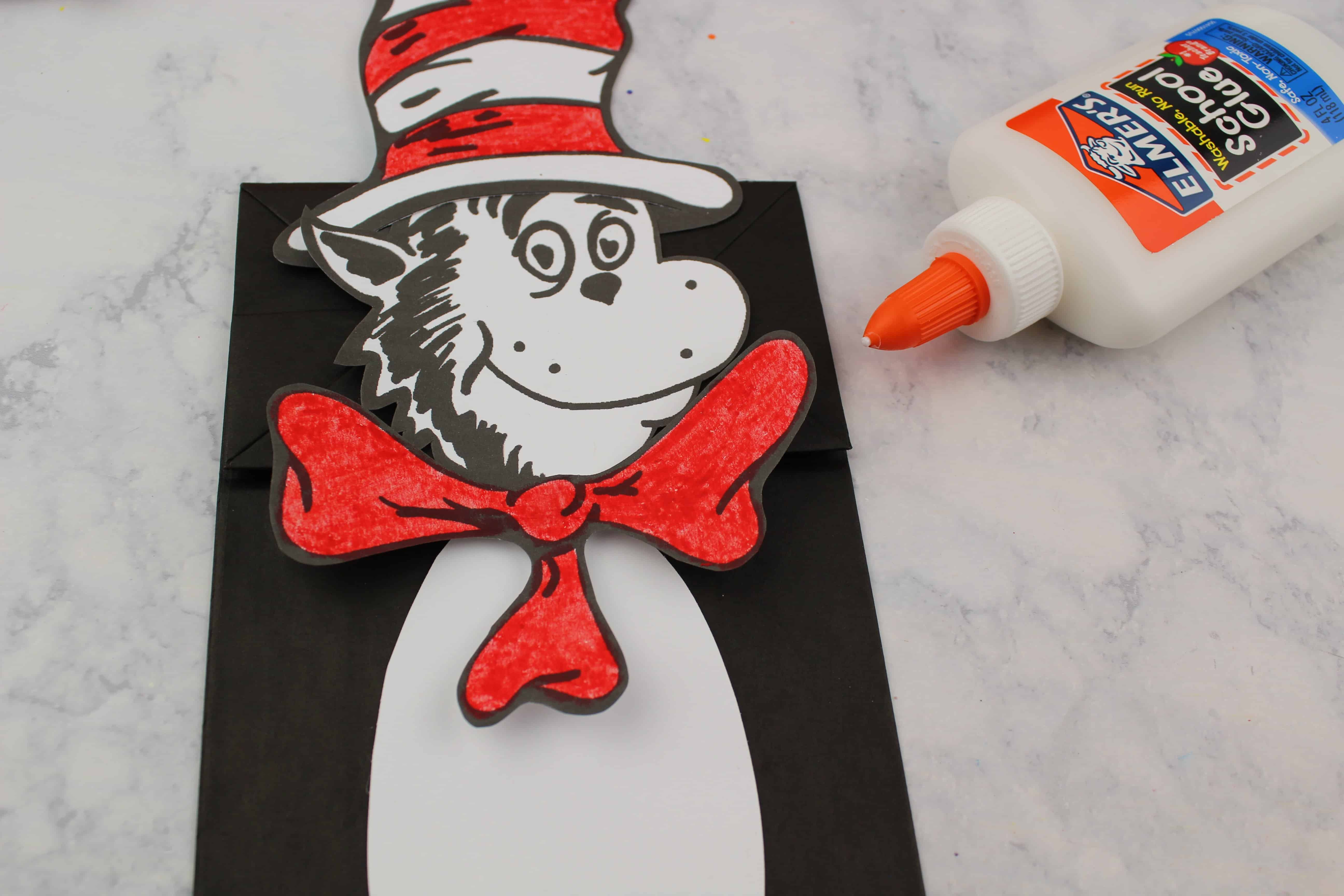 cat in the hat preschool puppet