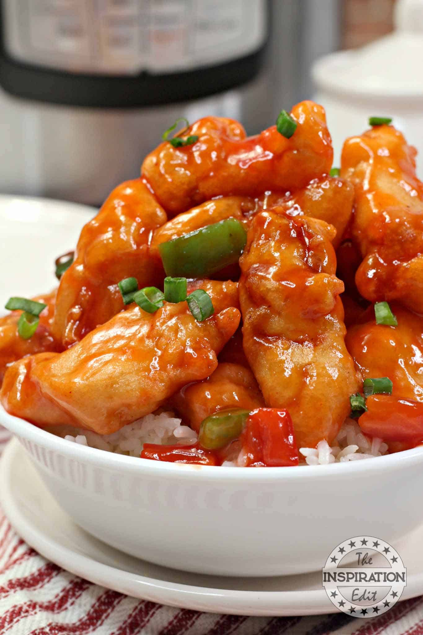 how to make sweet and sour chicken in the instant pot