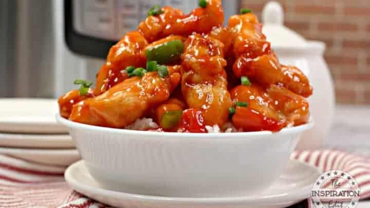 instant pot sweet and sour chicken recipe
