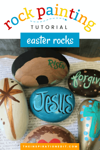 easter painted rocks