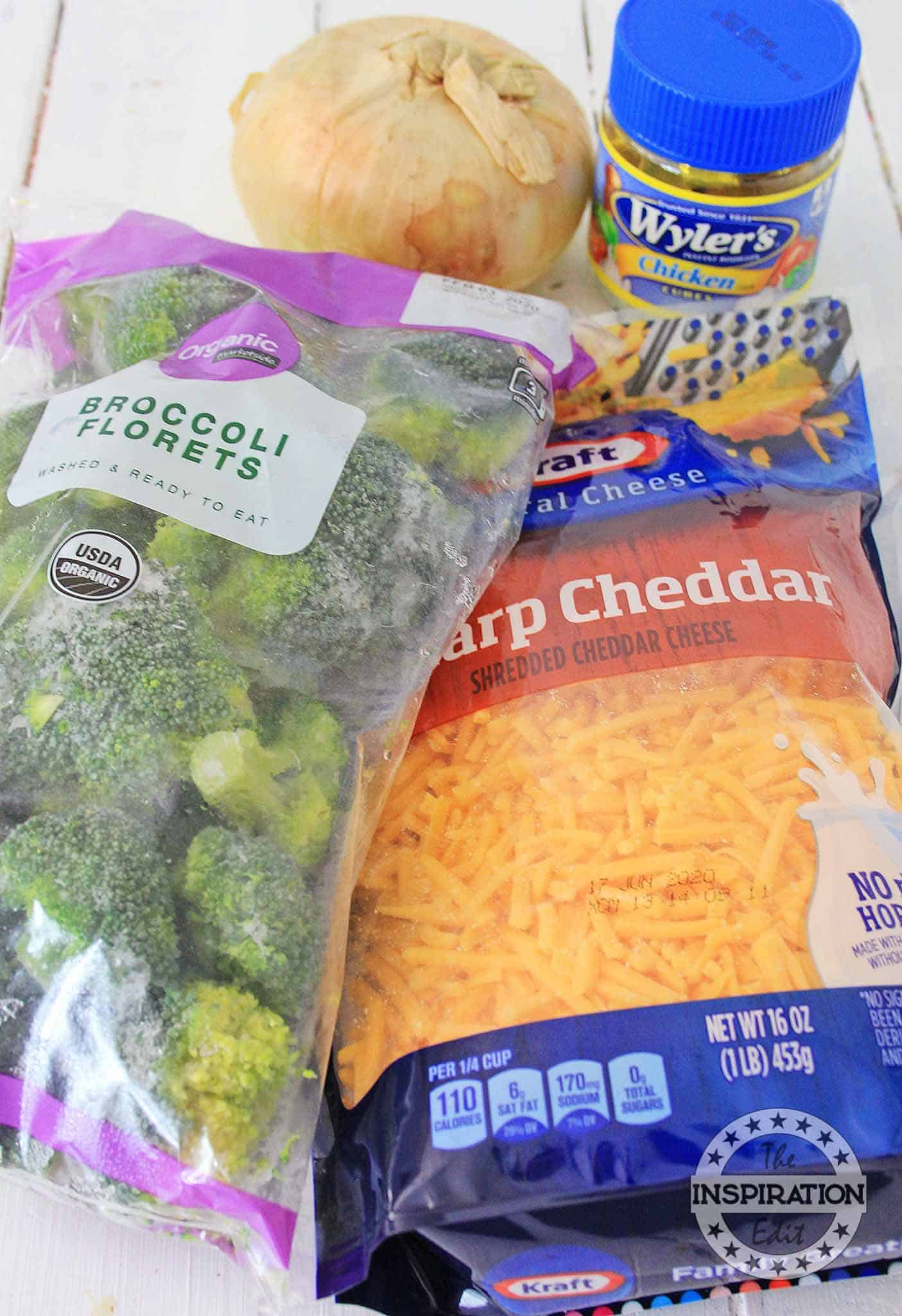 broccoli cheese soup ingredients