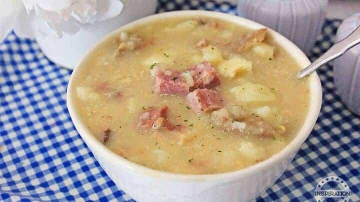 slow cooker potato and ham soup recipe