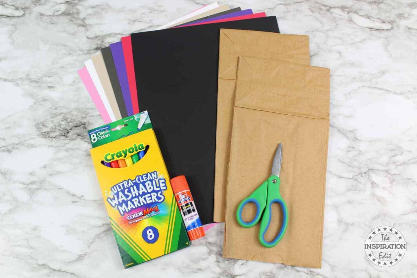 vampire craft supplies what you need, scissors and cardstock