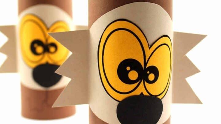 diy halloween toilet tube crafts for kids