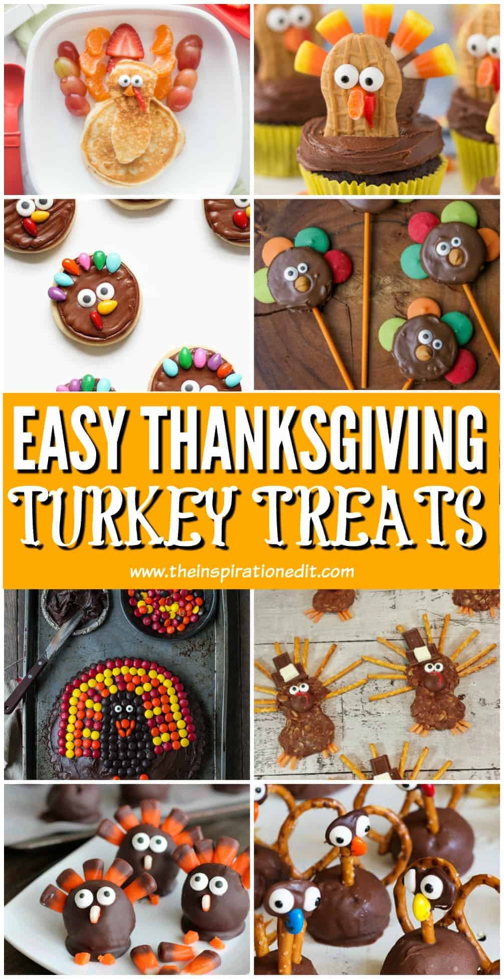 easy thanksgiving turkey treats