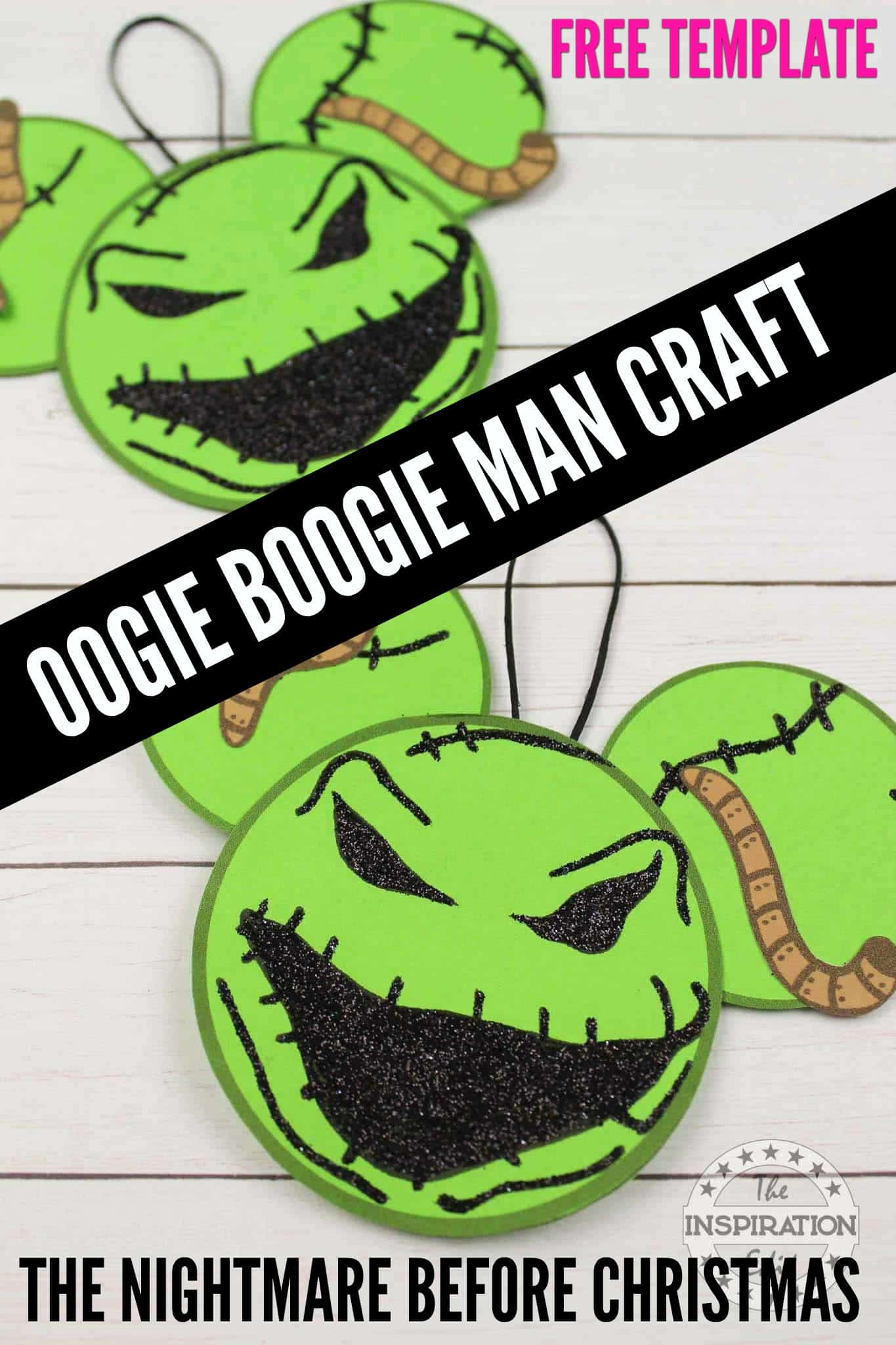 OOGIE BOOGIE MAN CRAFT FROM THE NIGHTMARE BEFORE CHRISTMAS