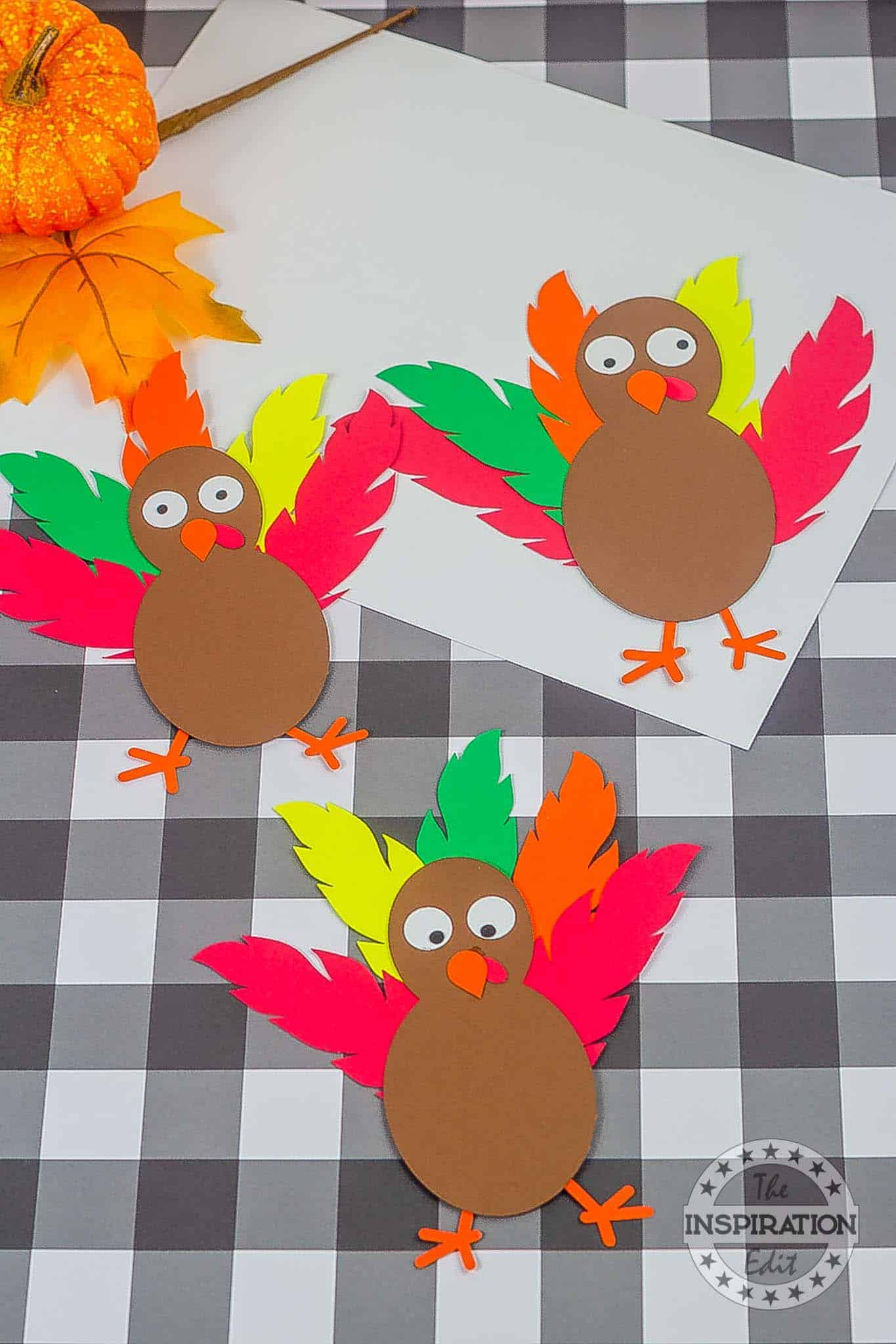 Cricut Thanksgiving Turkey Craft