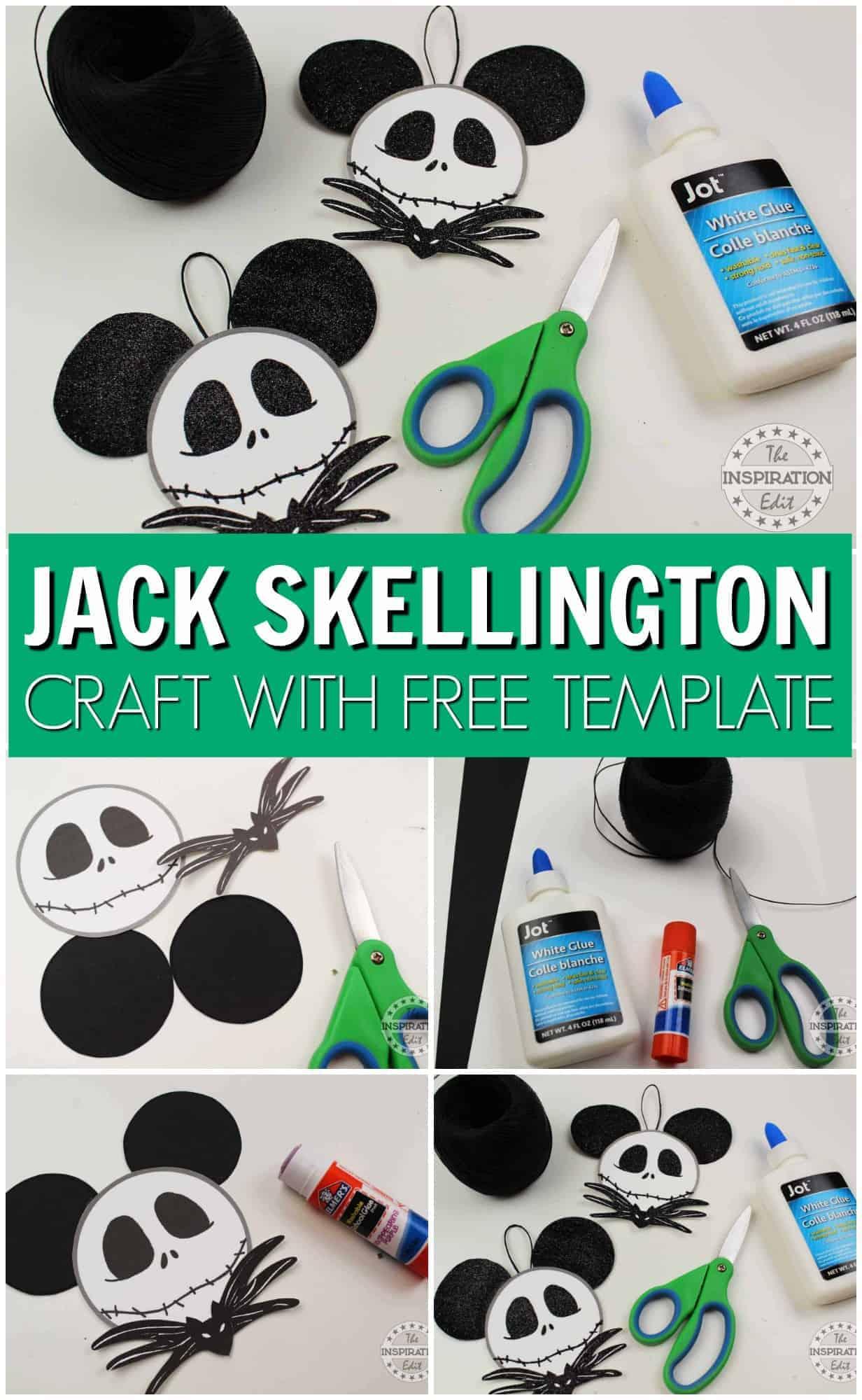 jack skellington christmas craft