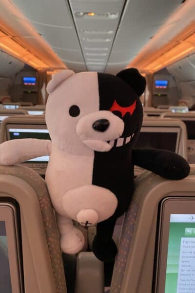 monokuma emirates flight
