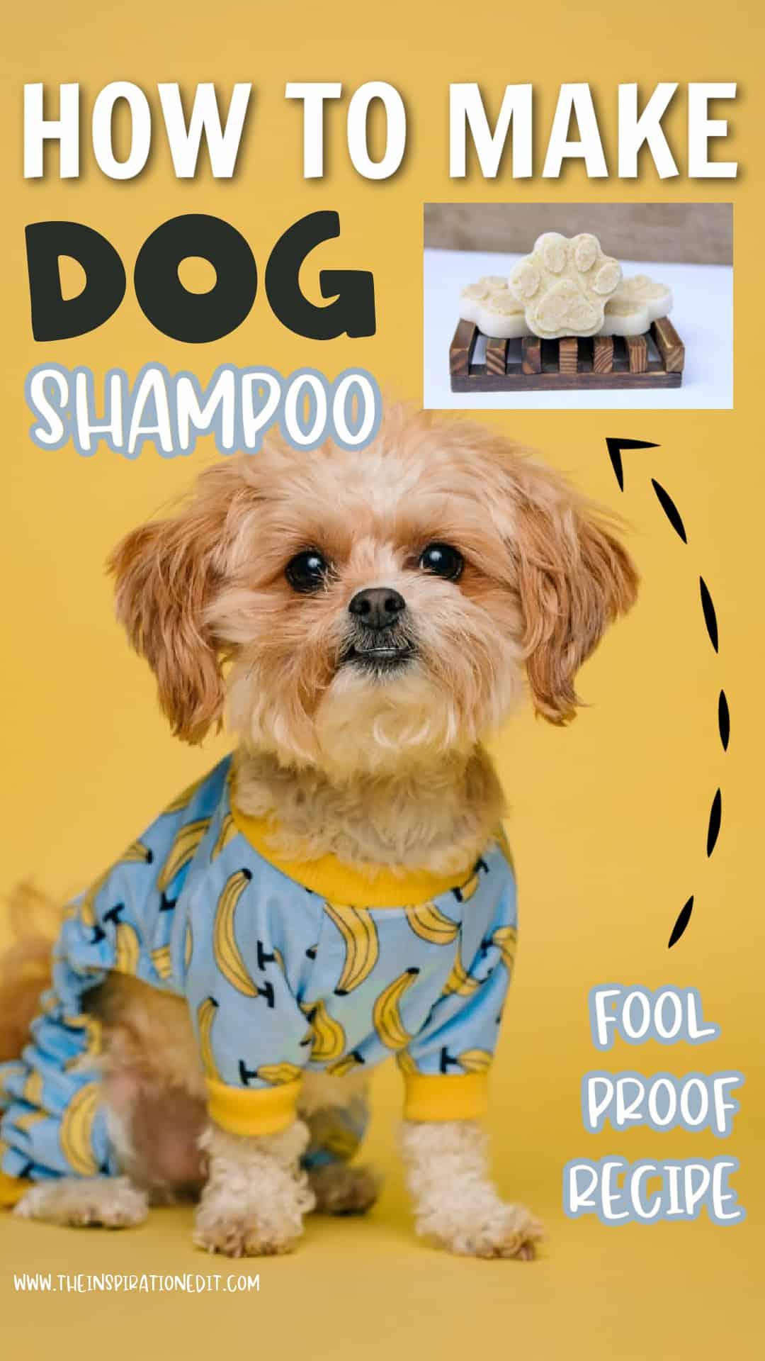 DIY DOG SHAMPOO BARS
