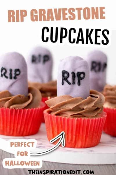 halloween-cupcakes gravestone
