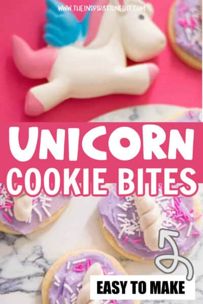 unicorn cookies for a unicorn party food