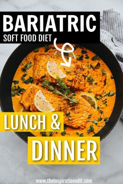 bariatric soft food diet