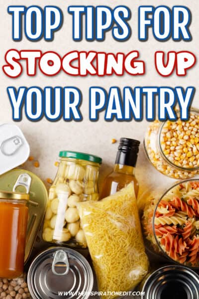 stocking up your pantry