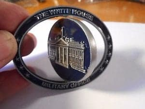 White House Military Challenge Coin