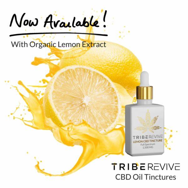 Tribe REVIVE Lemon CBD Tincture