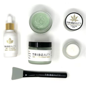 CBD Skincare Bundle - Eye Cream, Face Mask & Collagen Boosting Serum