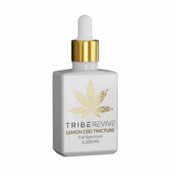 Tribe Revive Lemon CBD Tincture (1500 mg)