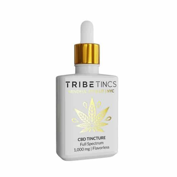 CBD Tinctures 1000 mg (Flavorless or Lemon)