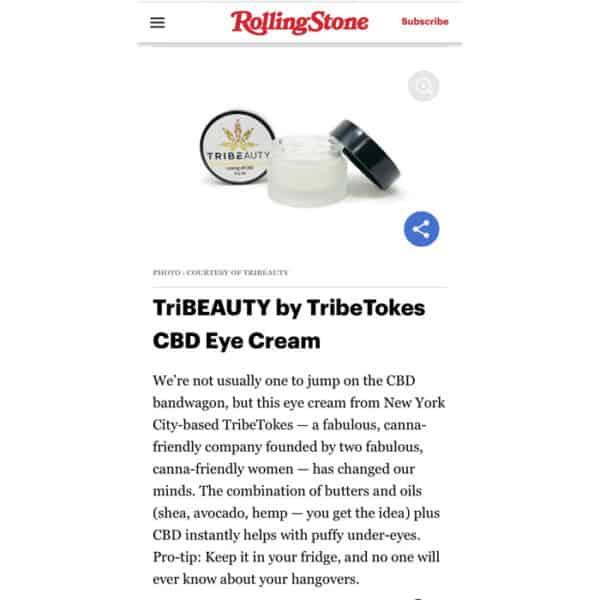 TriBEAUTY by TribeTokes CBD Eye Cream