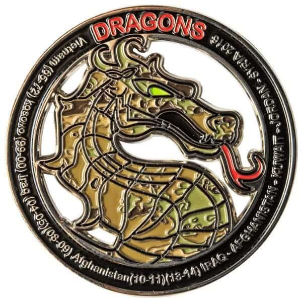 Produced Challenge Coin