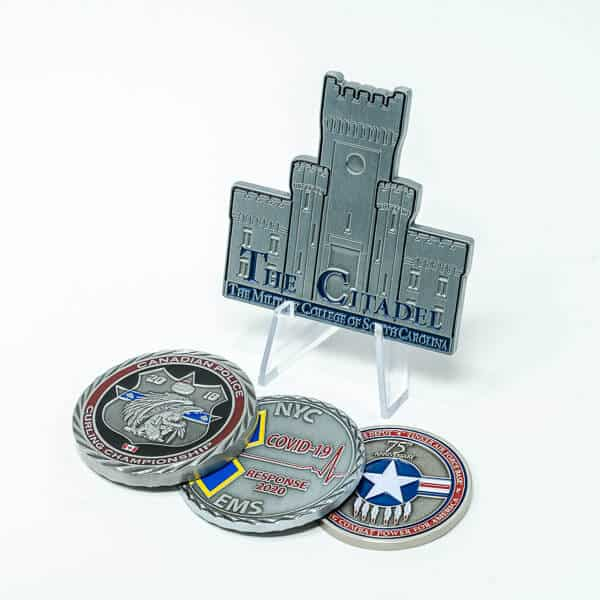 Antique Silver Coin Plating