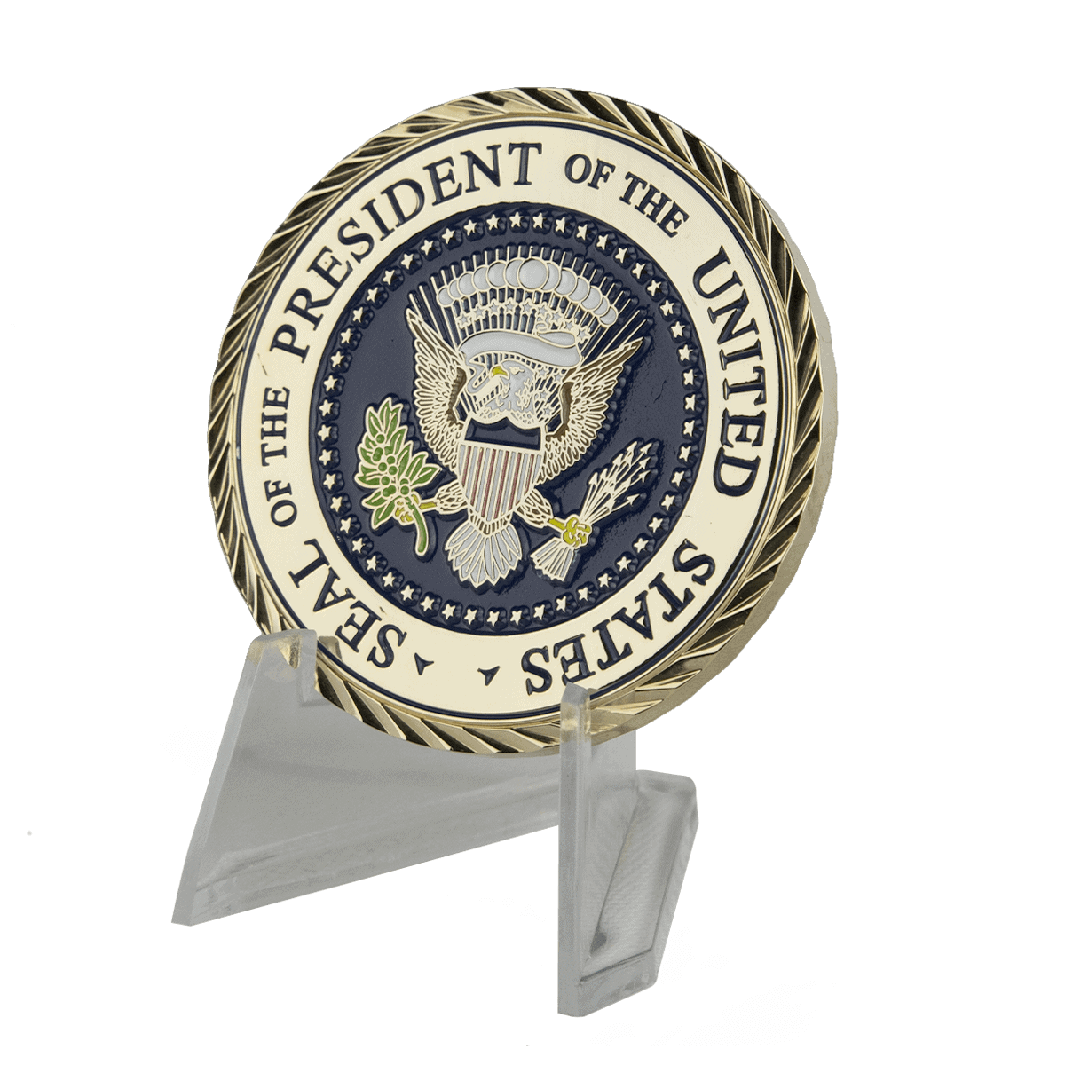 Challenge Coin Plastic Stand