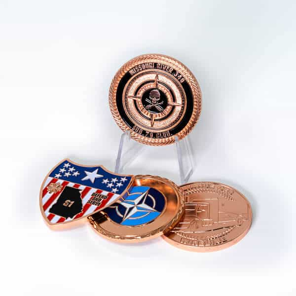 Polished Copper Coin Plating