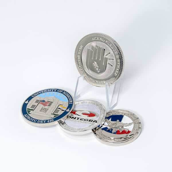 Polished Nickel Coin Plating