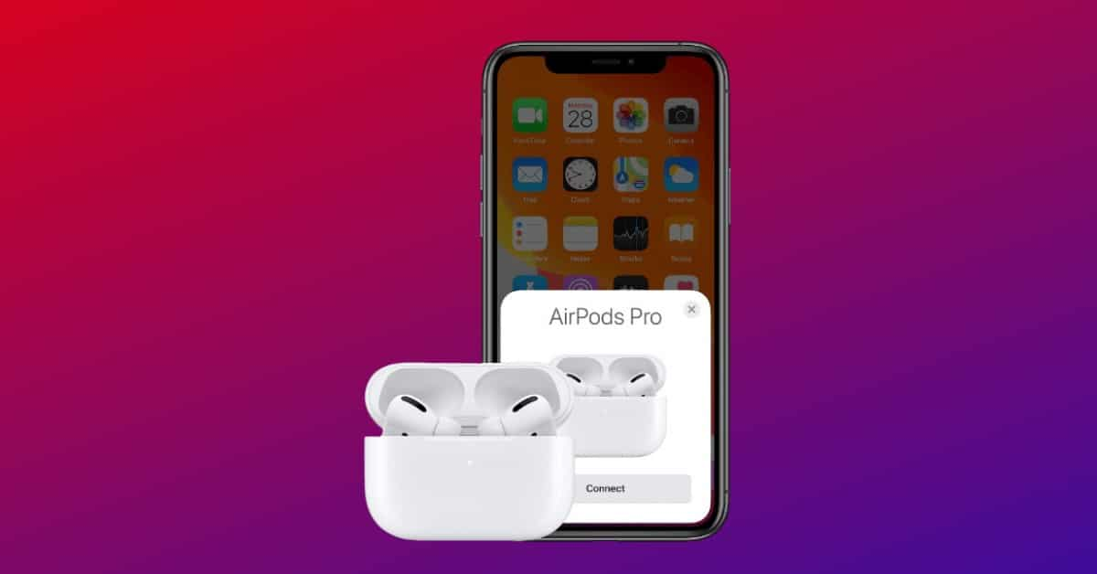 Apple Airpods Pro Connectivity