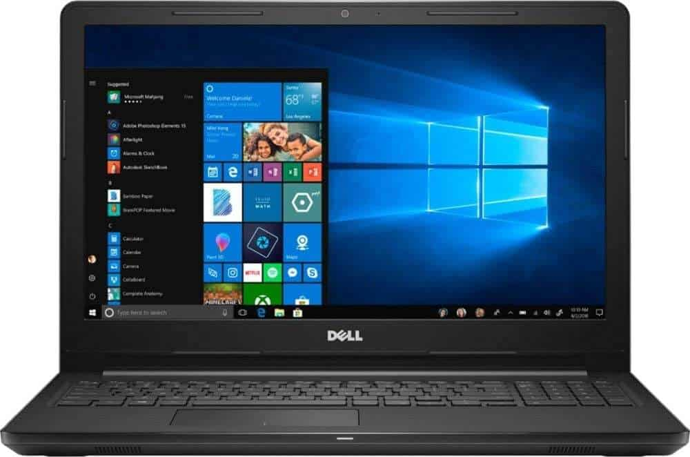 Dell Inspiron i3583 Touch-Screen - Best Laptop For Word Processing