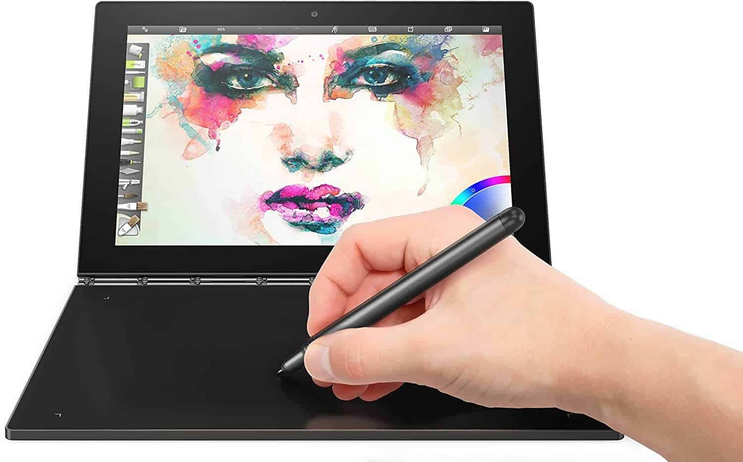 Lenovo Yoga Book 2 in 1 Tablet - Best NoteBook Tablet PC For Students