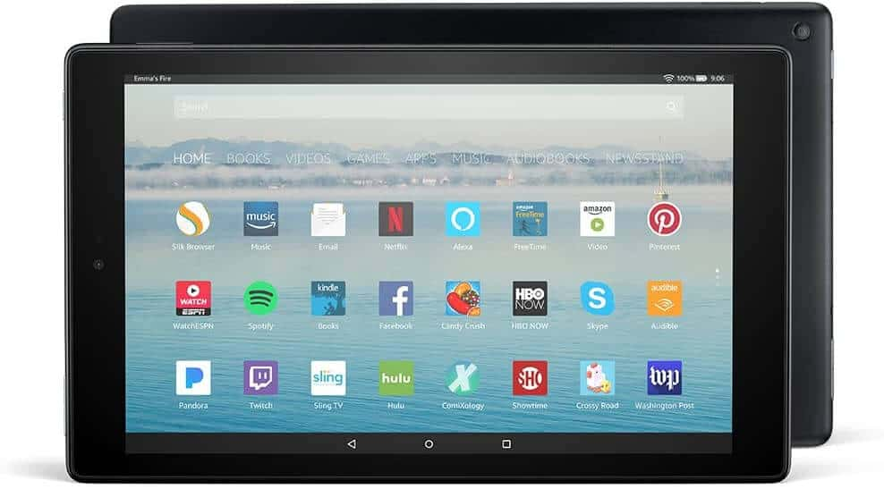 Fire HD 10 – Best Tablet For The Money