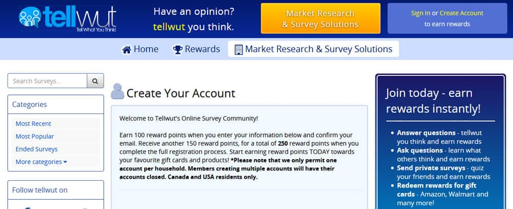 Top online paid survey sites