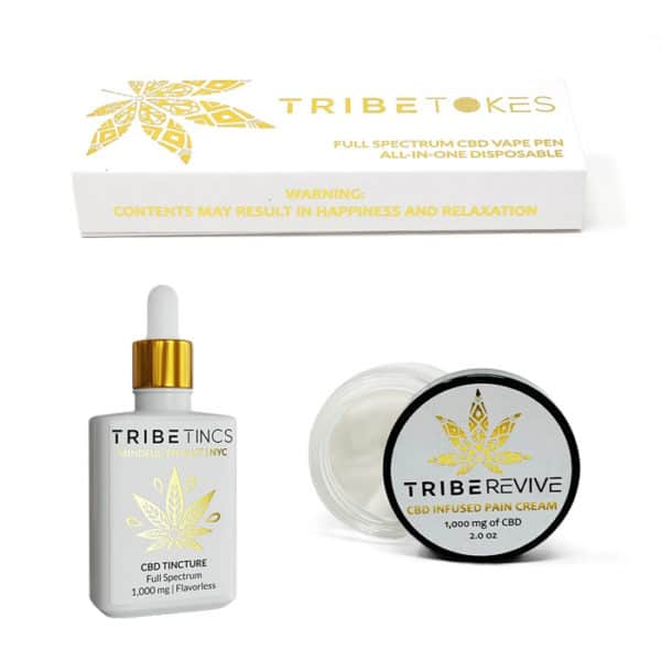 Good Night's Sleep Bundle - Indica Vape Pen, Extra Strength Pain Relief Cream & CBD Tincture