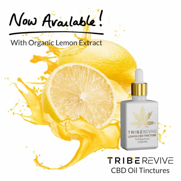 Tribe REVIVE Lemon CBD Tincture
