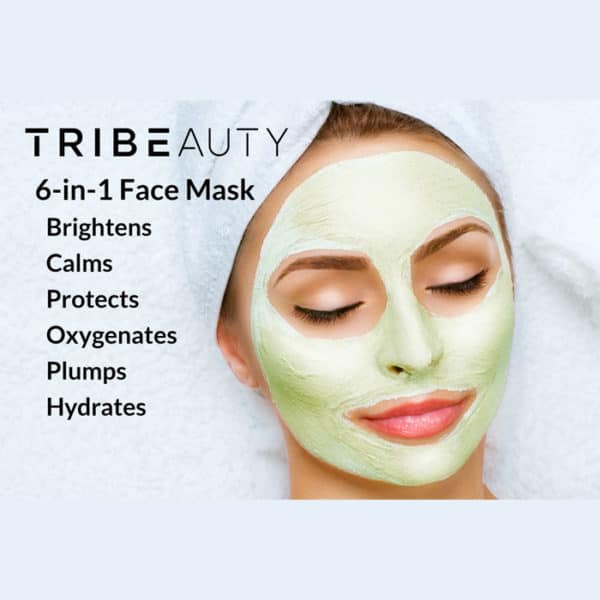 CBD Superfood Mask 6-in-1 for advanced skin protection