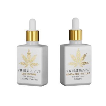 Lemon CBD Tinctures 2-Pack | 500-1500 MG (Flavorless)