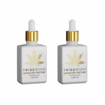 TribeREVIVE Lemon CBD Tincture Full Spectrum 1000 MG