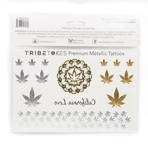 Premium Metallic Tattoos from TribeTokes