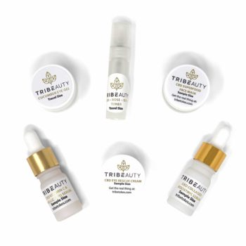 TRIBEAUTY Travel Size CBD Collagen