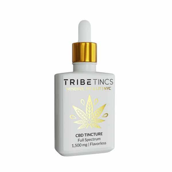 TribeTokes CBD Tincture 1500 mg (Flavorless)