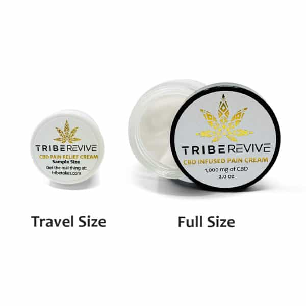 Travel Size Extra Strength CBD Pain Relief Cream