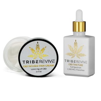 TribeREVIVE CBD Infused Pain Cream - Severe