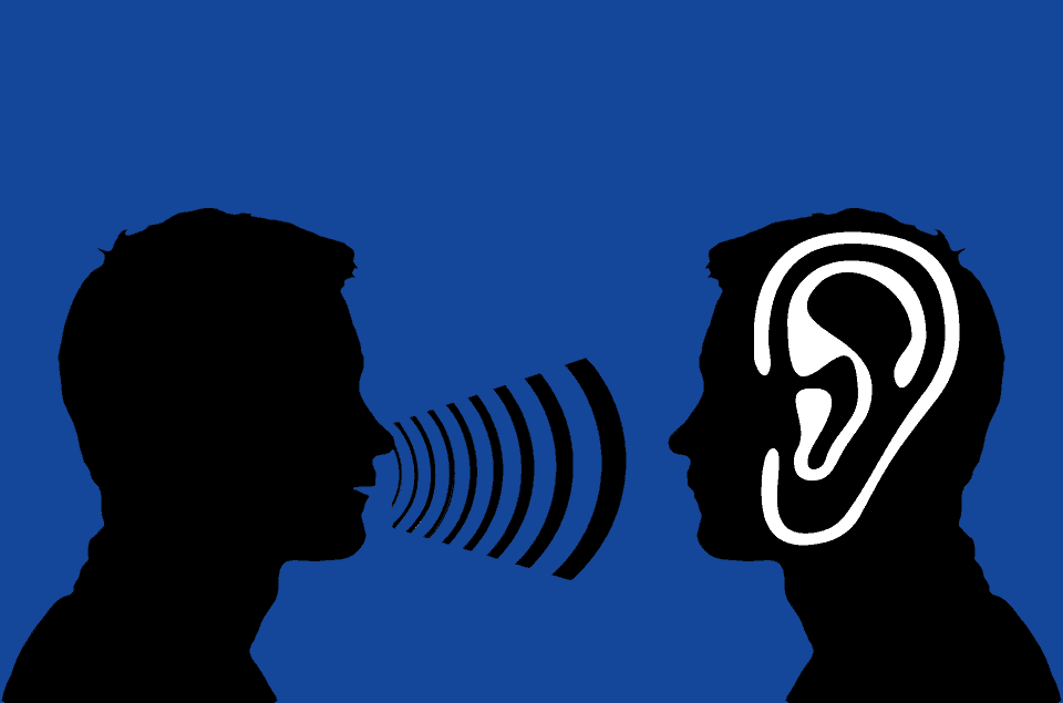 Person talking to second person