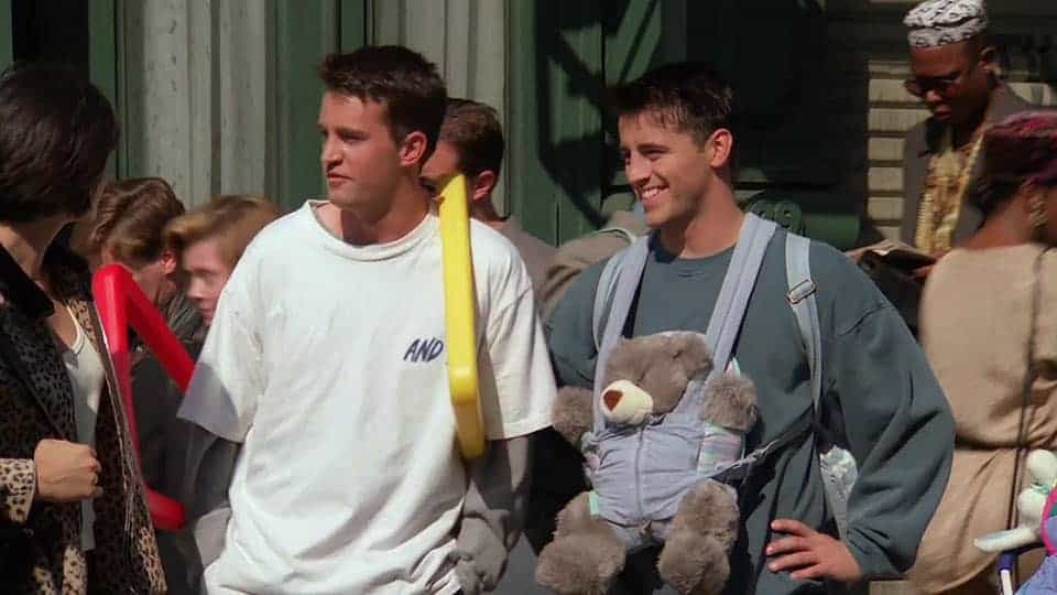 Friends – 'The One With the Baby on the Bus' (1995) • Teleplay