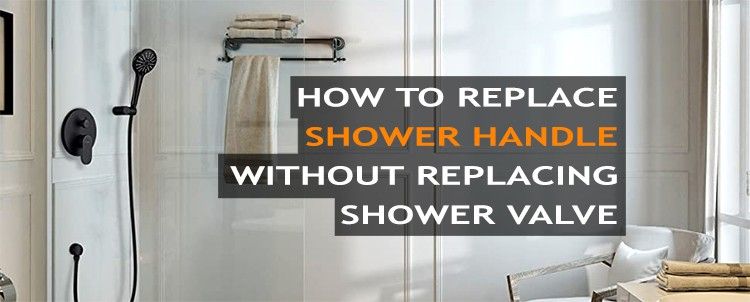 How to Replace shower handle without replacing valve