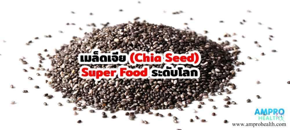 เมล็ดเจีย ( Chia Seed ) Super Food ระดับโลก