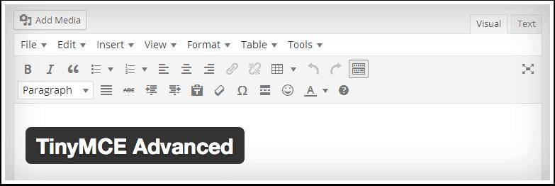 WordPress---TinyMCE-Advanced---WordPress-Plugins